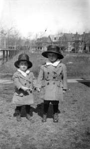 John F. Kennedy and Joseph P. Kennedy, 1919. Photo courtesy John F. Kennedy Library and Museum.