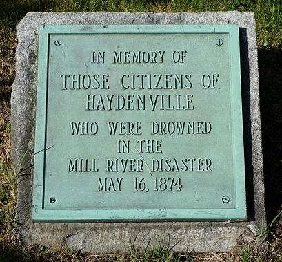 The Mill River Flood Of 1874 A Preventable Tragedy New England