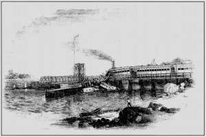 Sketch of the Norwalk Railroad accident