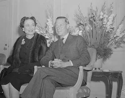 The Duke and Duchess of Windsor at the Ritz-Carlton. Photo courtesy Boston Public Library, Leslie Jones Collection.
