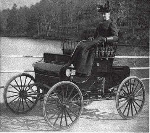 1901 Kidder Steam Wagon by the Kidder Motor Vehicle Co. in New Haven, Conn.