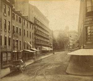 Tremont Street in the 19th century