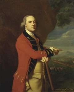General Gage by John Singleton Copley