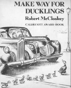 Make Way for Ducklings by Robert McCloskey, original cover