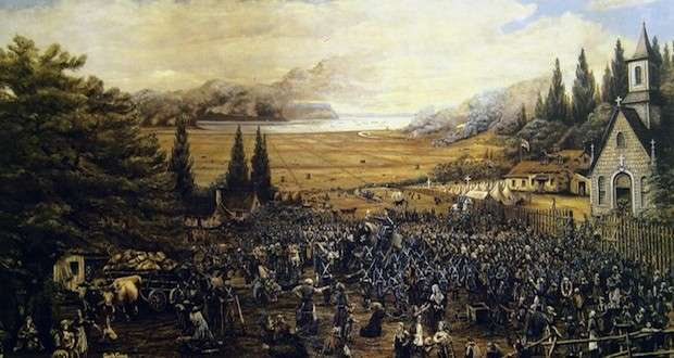 Fort Beausejour Surrenders, and the Great Expulsion of Acadians Begins