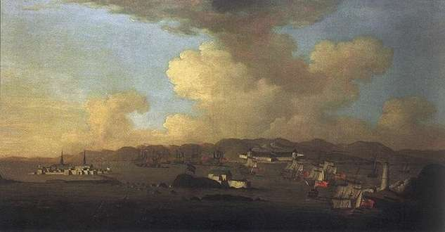 Siege of the Fortress at Louisbourg