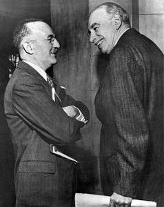 At Bretton Woods: Harry Dexter White and John Maynard Keynes