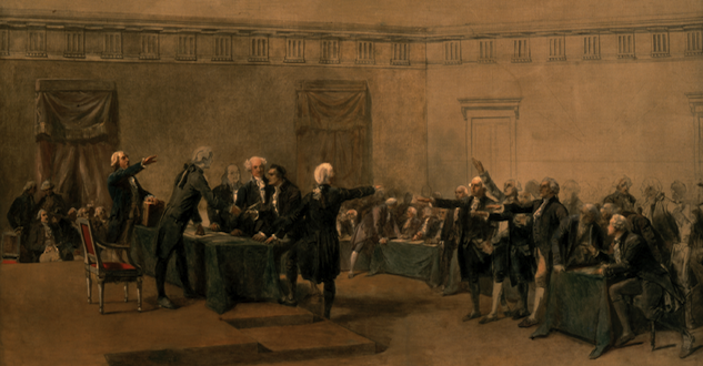 The Declaration of Independence of the United States of America by Armand-Dumaresq