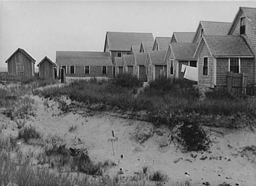 Provincetown shacks. Photo courtesy Library of Congress.