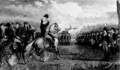 Washington takes command of the Continental Army