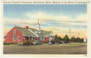 Howard Johnson's in Kennebunk, Maine.