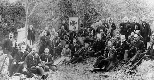 20th Maine Regiment reunion, 1889