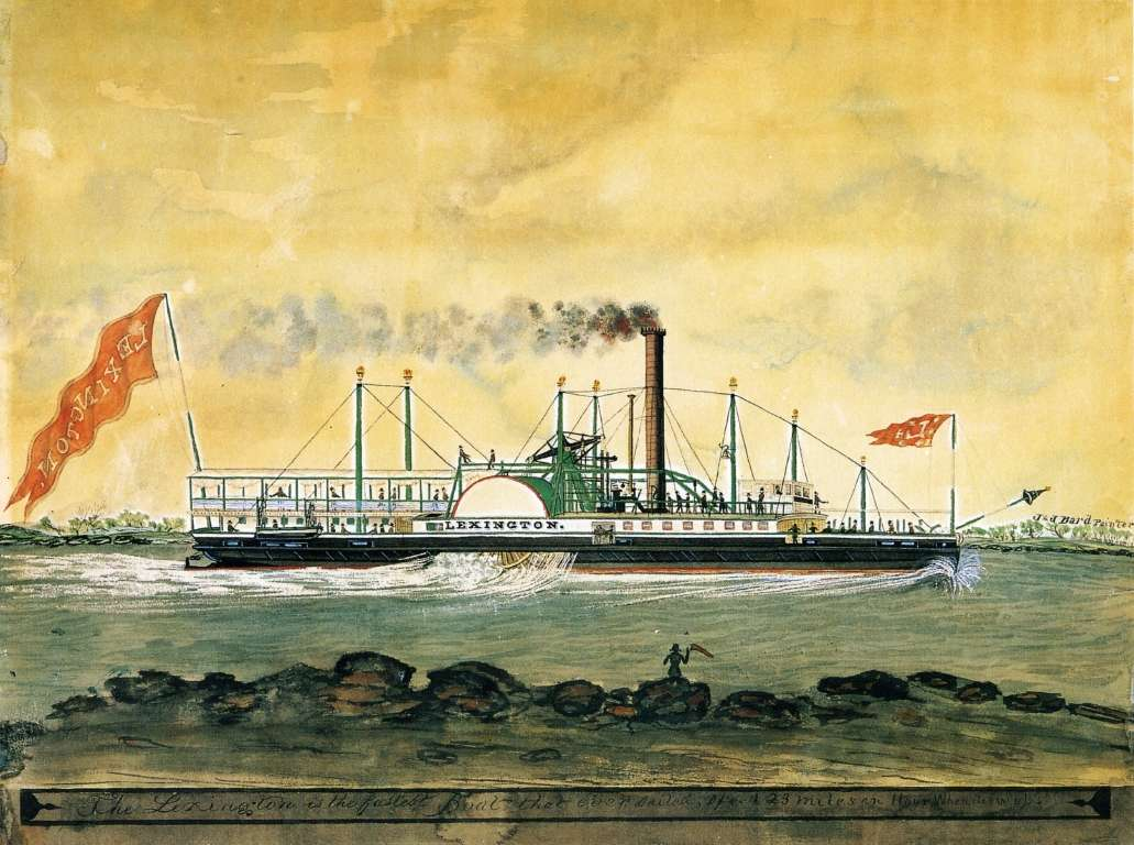 Steamboat Lexington before the tragedy