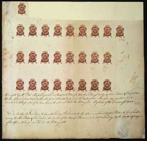 stamp act 498px-Proof_sheet_of_one_penny_stamps_Stamp_Act_1765