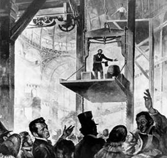 The 1854 Crystal Palace demonstration