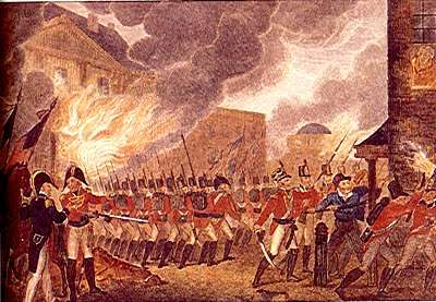 The British Burn The Capitol And Some New Englanders Celebrate