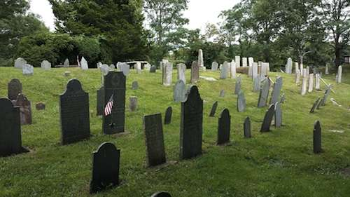 Old Town Burying Ground, Sandwich, Mass.