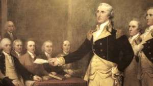 George Washington by John Trumbull
