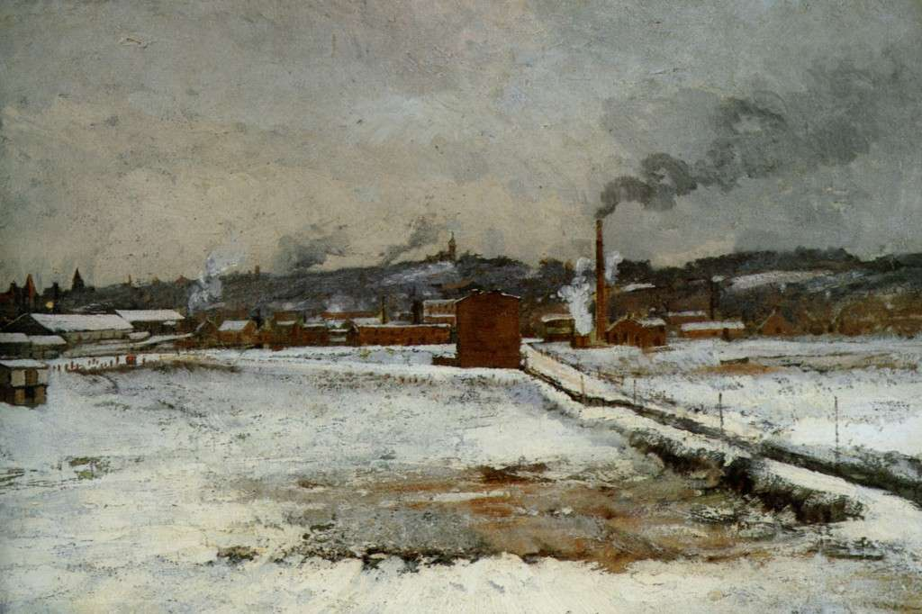 Winter Landscape, by John Henry Twachtman