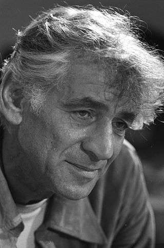 Leonard Bernstein, 1971. Photo courtesy Library of Congress.