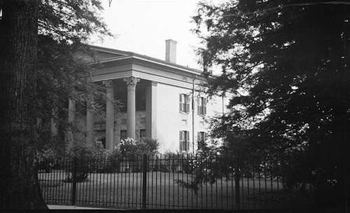 Samuel Wadsworth Russell House. Photo courtesy Library of Congress.