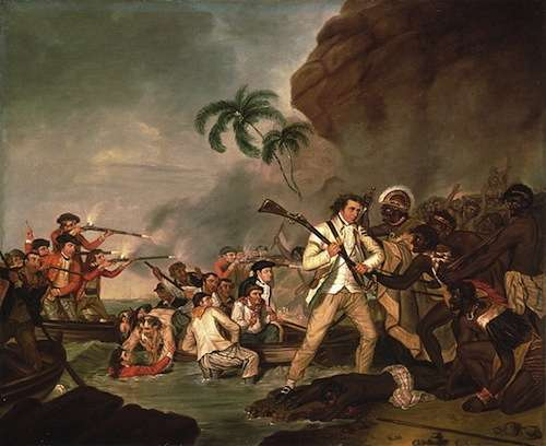 The Death of Captain Cook by George Carter