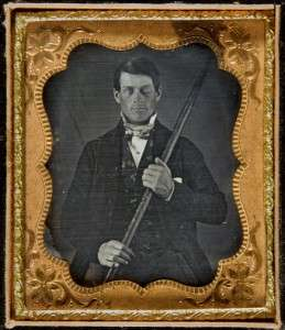 Phineas Gage (From the collection of Jack and Beverly Wilgus.)