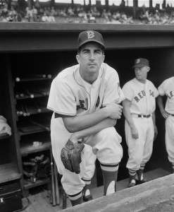Johnny Pesky. Photo courtesy Boston Public Library, Leslie Jones Collection.