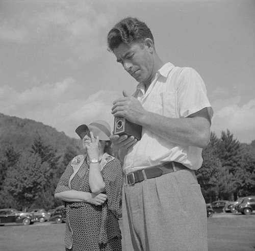 Another Mohawk Trail photographer. Photo courtesy Library of Congress.