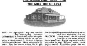 Before the Winnebago There was the Springfield Portable House