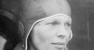 Flashback Photos: Amelia Earhart Takes Off From East Boston Airport