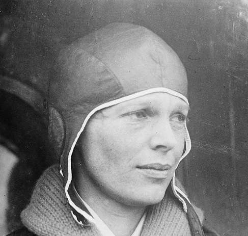 Flashback Photos Amelia Earhart Takes Off From East