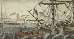 John Andrews wrote to his brother in law about the dramatic events of the Boston Tea Party