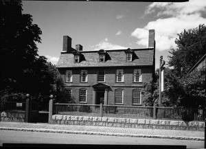 The Derby House. Photo courtesy Library of Congress.