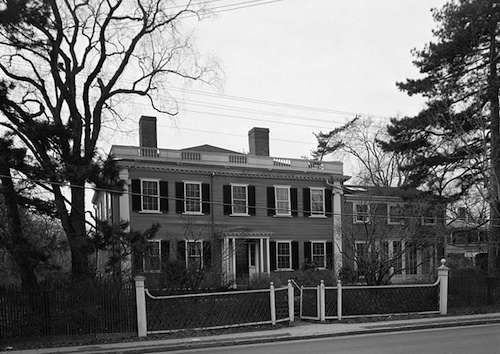 Asa Gray House. Photo by By George M. Cushing, photographer. [Public domain], via Wikimedia Commons.