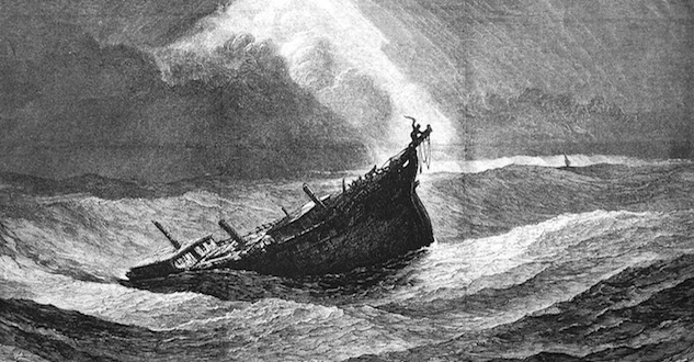 The worst damage from the Great Snow Hurricane of 1804 was to ships and wharves.