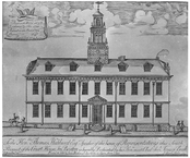 The Old State house in 1851
