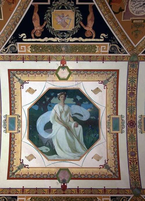 Aglaia, Library of Congress mural