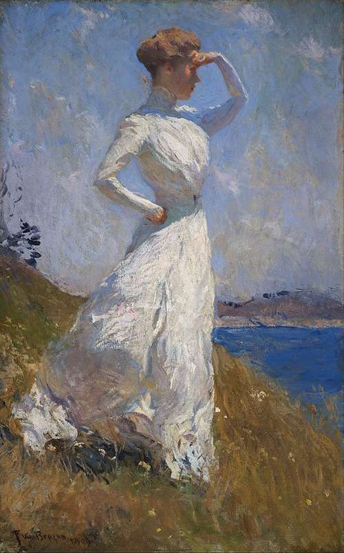 Sunlight, by Frank Weston Benson