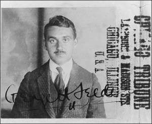 George Seldes Chicago Tribune Press Card.