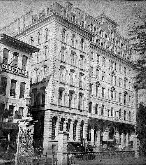 The Parker House, 19th century