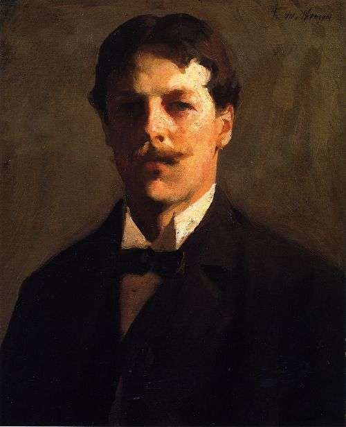 Self-Portrait_oil_Frank_Weston_Benson
