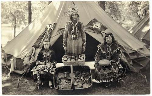 plymouth tercentenary indians