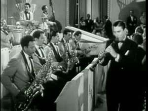 Artie Shaw with his band