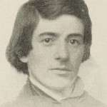 Franklin Sanborn at 21.