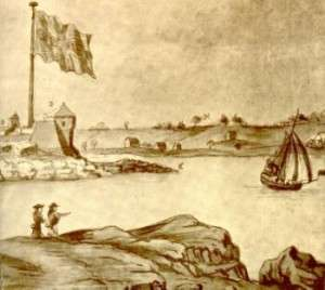Fort Willilam and Mary, 1705