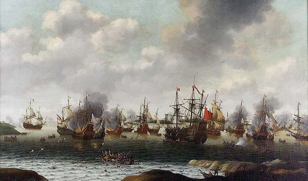 Maine Timbers kept the British Navy afloat in the second Anglo-Dutch war in 1666.