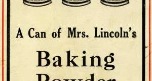 Mary J. Lincoln Teaches America How To Make Brown Bread, Baked Beans, Fish Balls and Indian Pudding