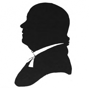 William Bentley, from a silhouette made about 1815 in the possession of the Essex Institute