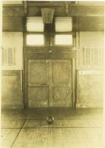 The first basketball court